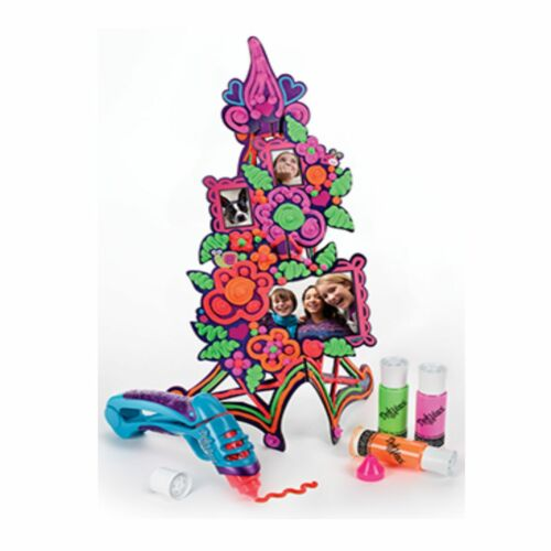 Years Hasbro Play-Doh Doh Vinci Flower Tower Photo Frame Creative Kit A7191-6