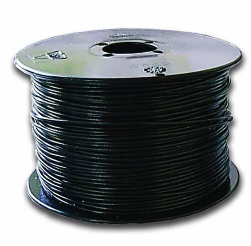 0,10€//1m Litze LiY 0,14mm² schwarz Spule mit 100m