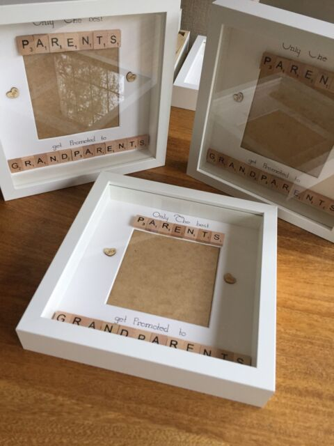 Scrabble Art Frame Only The Best Parents Get Promoted to ...