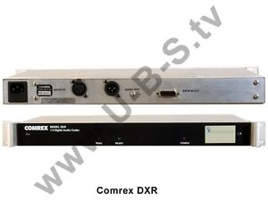 Video Production & Editing 7.5 Digital Audio Codec Strengthening Sinews And Bones Comrex Dxr