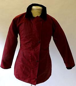 English Da Invernale Giacca Marrone Donna Cerato Passeggio Cotone Rosso Verde aZrCxqawPv