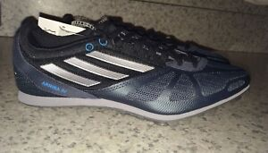 5 Track 5 Iv 7 Mens Blu 8 Adidas Arriba 4 Nuovo 6 Distance Sz Spikes Navy Silver 60CawqwER1