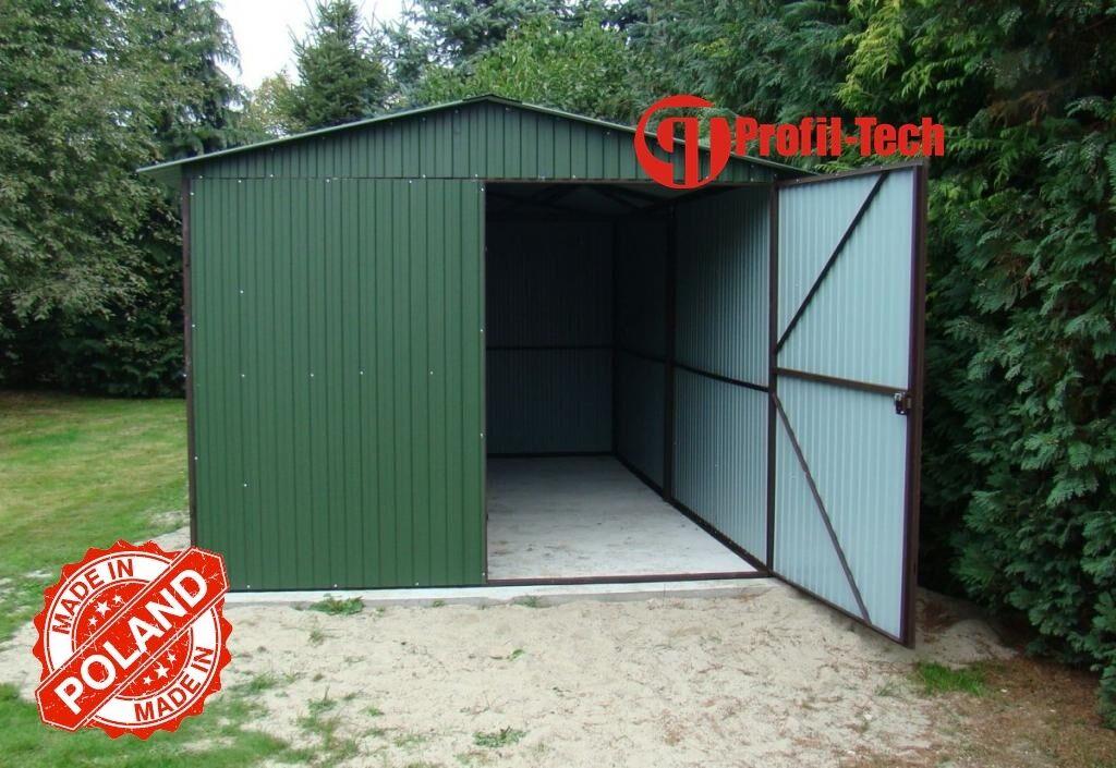 2,0x3,5 Blechgarage Fertiggarage Metallgarage LAGERRAUM GERÄTESCHUPPEN garage