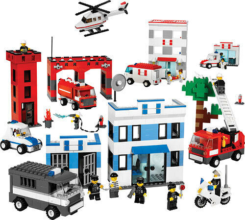 NEW Lego City Town Rescue Service Set NEW NEW NEW Sealed aa51a5
