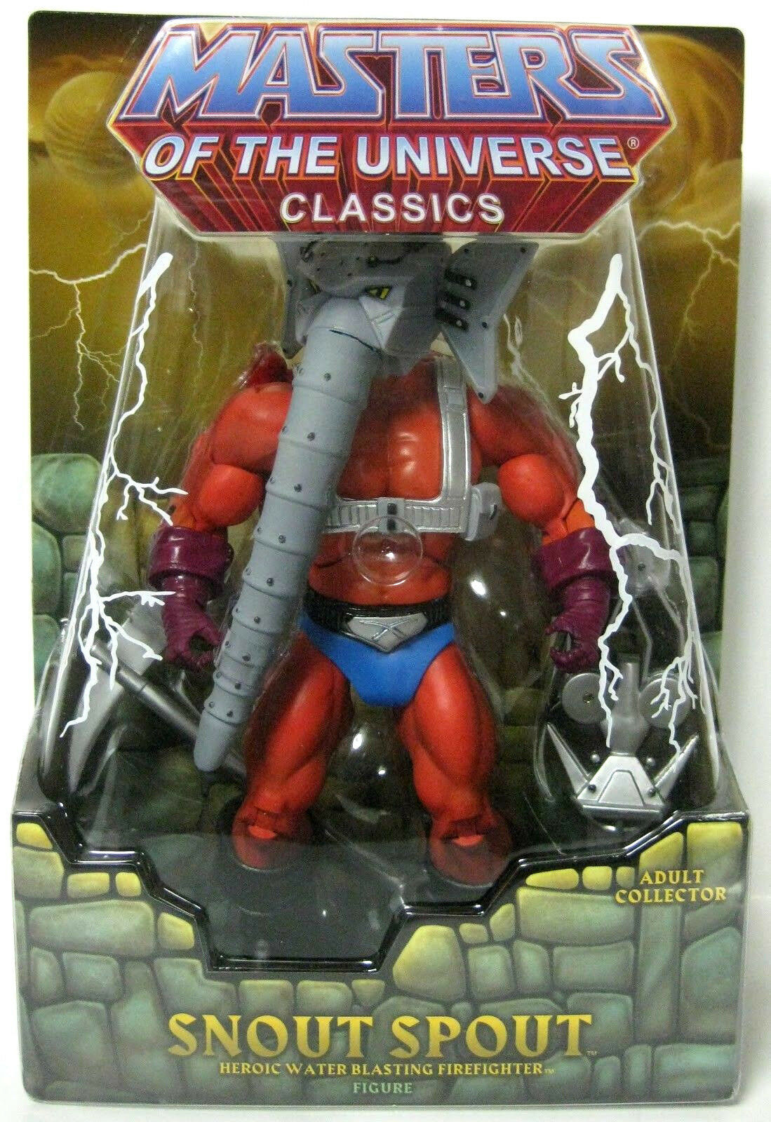 MASTERS OF OF OF THE UNIVERSE Classics_SNOUT SPOUT 6  figure_Exclusive Limited Edition 9d4194