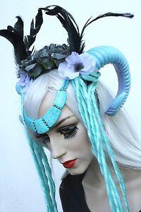 Warrior-Witch-Ram-Horn-Dread-Crown-Boho-Head-Band-Indie-Gothic