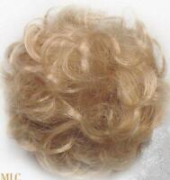 Blonde Pull-thru Hair Enhancer Wiglet Pieces Brown/black