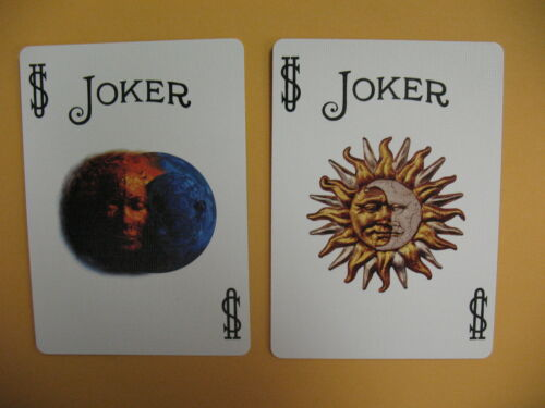 Lot 2 New Rare Trace Decks 1 YELLOW,1 PURPLE Bicycle Playing Cards