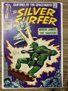 The-Silver-Surfer-2-Silver-Age-Marvel-Comic-Book-VG-FN