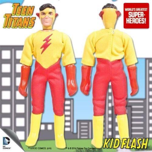 """Mego rapide et Kid Flash Jaune Bottes repro pour 7/"""" Figure wgsh Custom parts lot"""
