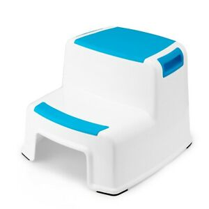 Sensational Details About Toddler Two Up Anti Slip Step Stool Blue Pabps2019 Chair Design Images Pabps2019Com