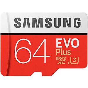 Samsung-64GB-Evo-Plus-Micro-SDXC-TF-Memory-Card-Adapter-100MBs-New-UK-MC64GA