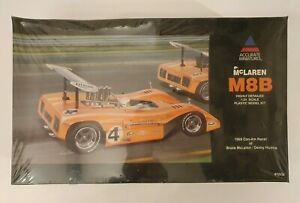 ACCURATE MINIATURES MCLAREN M8B 1969 CAN-AM RACER MODEL KIT 1/24 SEALED