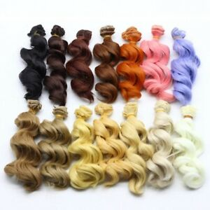 DIY-Colorful-Ombre-Curly-Wave-Doll-Wigs-Synthetic-Hair-For-Dolls-xx