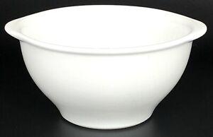"""Vista Alegre Portugal Cook & Serve Blanco 6 1/4"""" cereal   Tazón de Sopa W82 ~ Como Nuevo"""