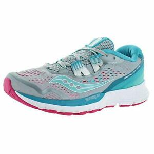 Details about Saucony Zealot ISO 3 Women's Running Shoes GrayBluePink, Size 5 M
