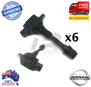 6-x-GENUINE-IGNITION-COIL-Pack-OVER-PLUG-for-Nissan-PATROL-GU-TB48DE-4-8L-01-07