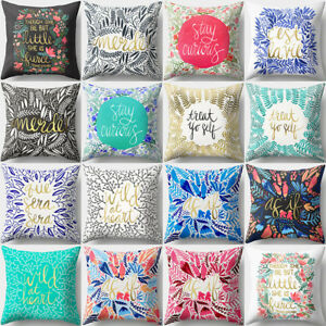 18/'/' Cat Kitten Throw Pillow Case Cushion Cover Sofa Bed Car Home Decor Sightly
