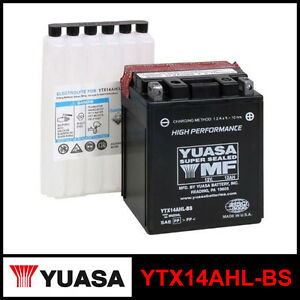 batteria yuasa ytx14ahl bs 12 volt 12 ampere. Black Bedroom Furniture Sets. Home Design Ideas