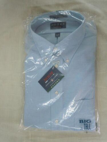NWT!! Button Down Collar Blue Big /& Tall Arrow Dover Men/'s Oxford Dress Shirt