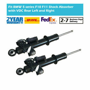 2PCS Rear Air Suspension Gas Shock Absorber Strut Fit BMW 5-Series F10 520i 550i