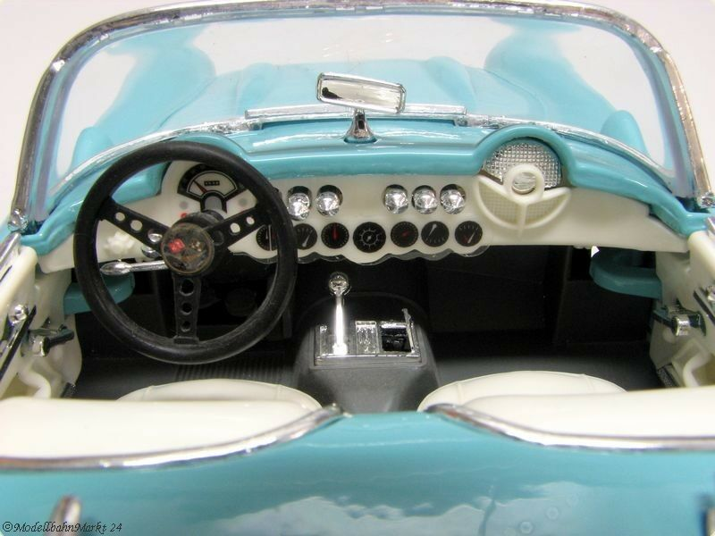 Yat-Ming 92018  ROAD LEGENDS LEGENDS LEGENDS  CHEVROLET CORVETTE 1957 Scale 1 18 neuf dans sa boîte ee44cc