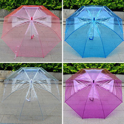 Cute Transparent Clear Arch Umbrella Parasol For Wedding Party dance props gift
