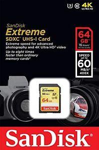 SanDisk Extreme - (SDSDXN-064G-G46)