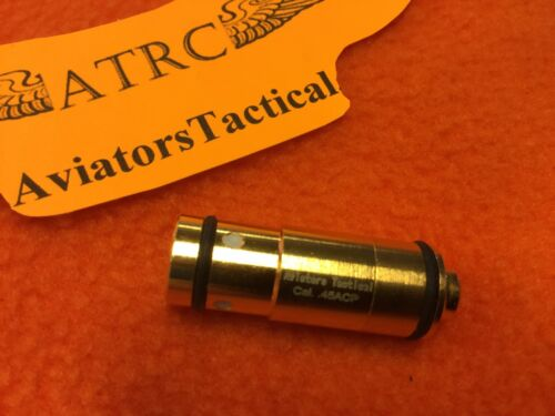 45 ACP Laser Training Trainer, Train Bullet Ammo Cartridge /& camera tri-pod