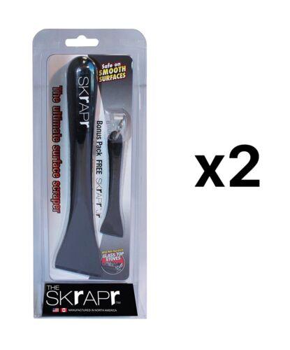 "2-Pack Fox Run Skrapr//Skrapr JR Set Ultimate Smooth Scraper 8/"" x 2/"" x 2/"" 22701"
