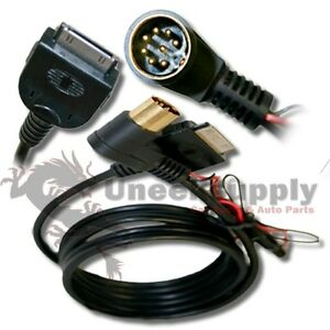 Alpine-8-pin-cable-cord-for-MBUS-M-BUS-2-Apple-iPod-iPhone-plug
