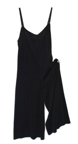 vintage Romper Jumpsuit Slip, Adonna, Nylon Back S