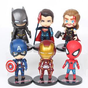 6pcs-set-The-Avengers-Iron-Man-Captain-America-Thor-Lot-Figure-Toys-Kids-Gifts