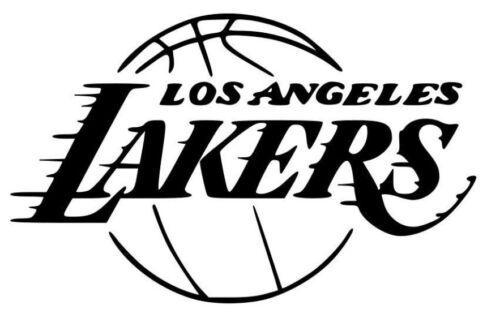 Los Angeles Lakers Vinyl Decal Sticker NBA LA Basketball Design USA Seller