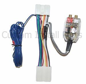 factory radio add a sub amp plug play harness bass inline dodge rh ebay com