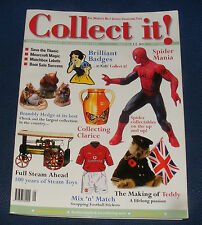 COLLECT IT! ISSUE 63 OCTOBER 2002 - SPIDER MANIA/COLLECTING CLARICE