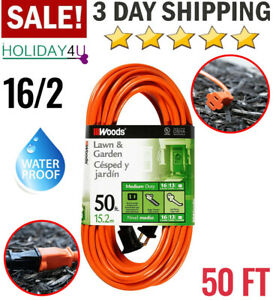 Outdoor Extension Cord Light Duty