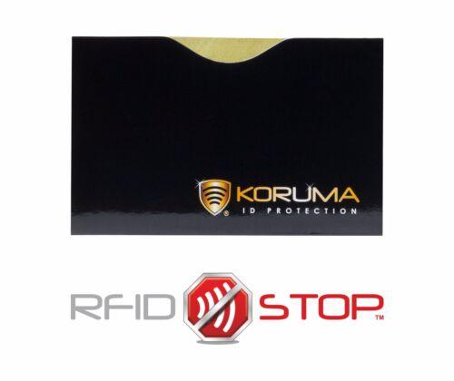 sezione carte credito tessere Manicotto di carta NFC Senza elementi magnetici