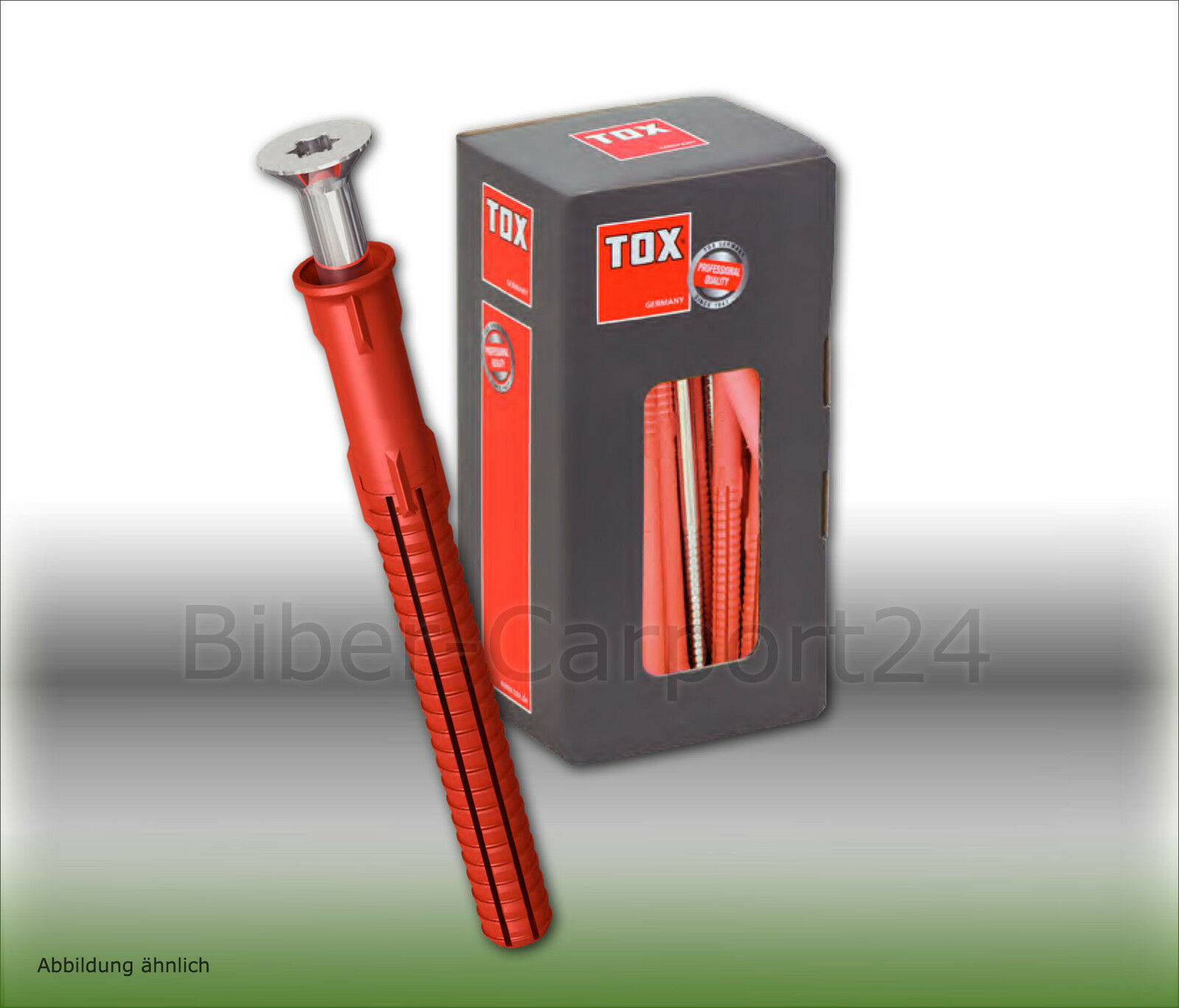 Tox FASSAD PRO SK SDF-S10 H, Rahmendübel, Senkkopfschraube, Fassade, Kunststoff