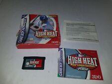 High Heat Major League Baseball 2002 (Nintendo Game Boy Advance, 2001)