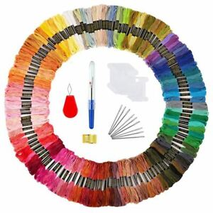 Embroidery-Threads-172-kit-Craft-Floss-for-Friendship-Bracelets-String-Cros-C6R5
