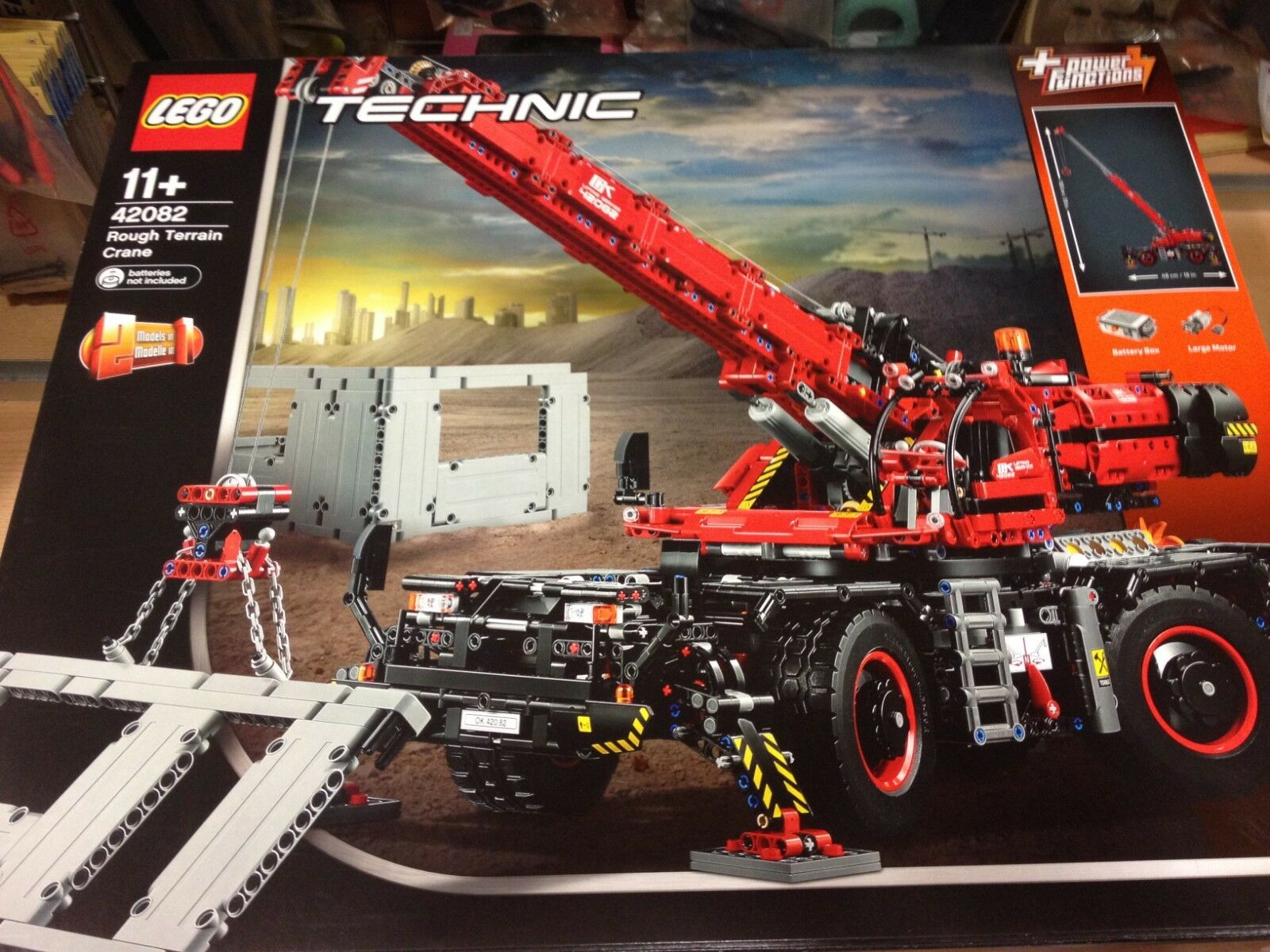 Grua Todo Terreno Lego Technic Referencia 42082