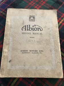 Albion Truck Service Manual CH3A The Chieftain