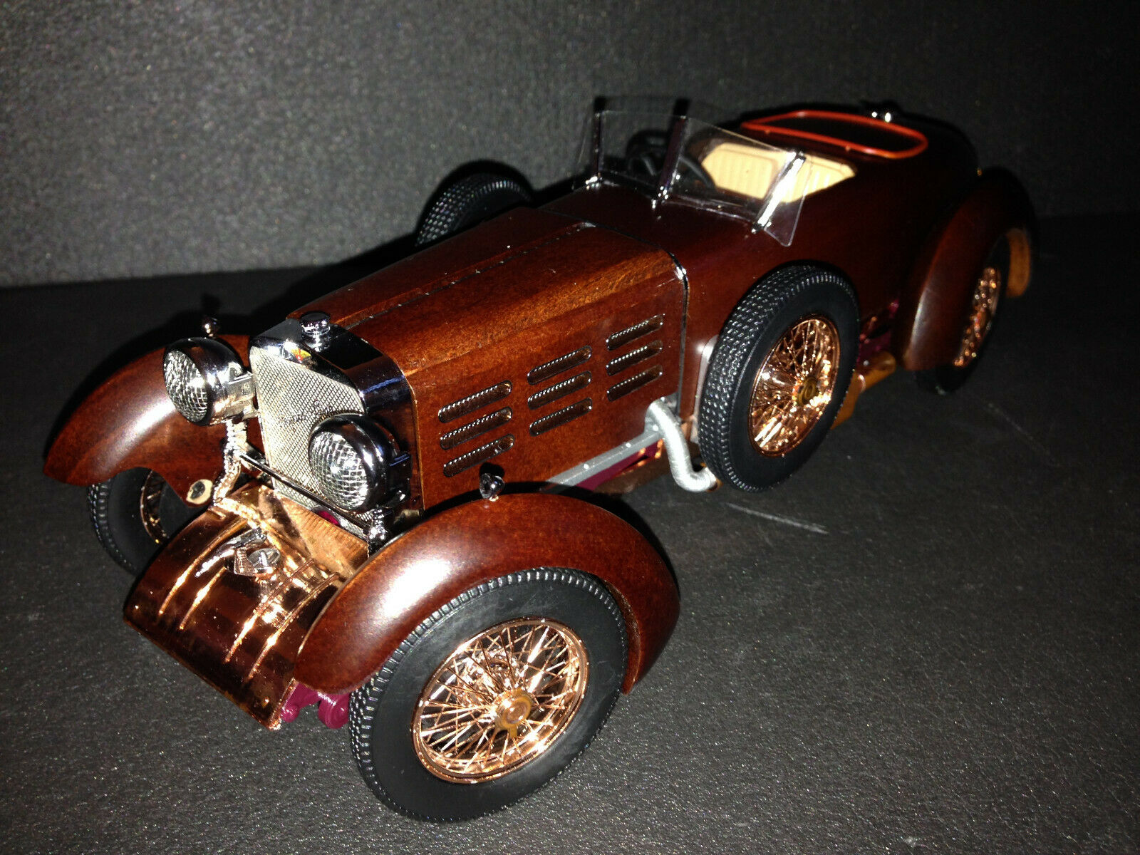 Hispano-Suiza H6C 1924 Dubonnet Boulogne Targa Florio Speedster  Tulipwood  1 18