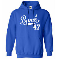 Bomb 47 Script & Tail Hoodie - Hooded 1947 Lowrider Bomba Sweatshirt All Colors
