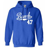 Bomb 47 Script & Tail Hoodie - Hooded 1947 Lowrider Bomba Sweatshirt All Colors