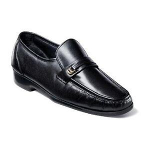 Florsheim Men's Riva Slip-On Dress up Leather Shoes