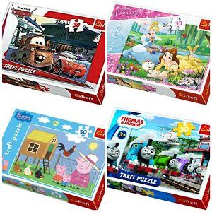 Trefl-30PC-Jigsaw-Puzzle-pour-Enfants-Activite-amusante-Disney-Peppa-Pig-Thomas-amp-Friends