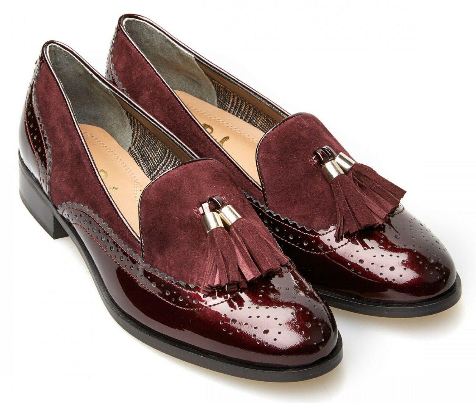 Ladies Step in scarpe Van Dal  Buchanan Garnet EU Dimensione 37 (UK Dimensione 4) D Fitting  consegna gratuita