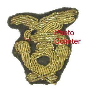 Insigne-brode-cannetille-d-039-Officier-d-039-Infanterie-Alpine-Armee-Italienne